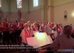 Concert de Noël 2018 Ensemble Vocal Louhannais