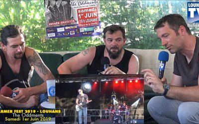 Farmer Fest 2019 – Interview du groupe «Les Oddments»