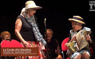 Spectacle patois «La Couée d'la Glaudine» au Réservoir de Saint-Marcel