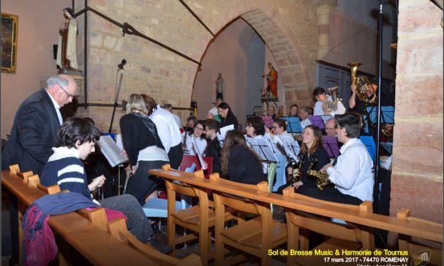 Concert Sol de Bresse Music & Harmonie de Tournus 2017