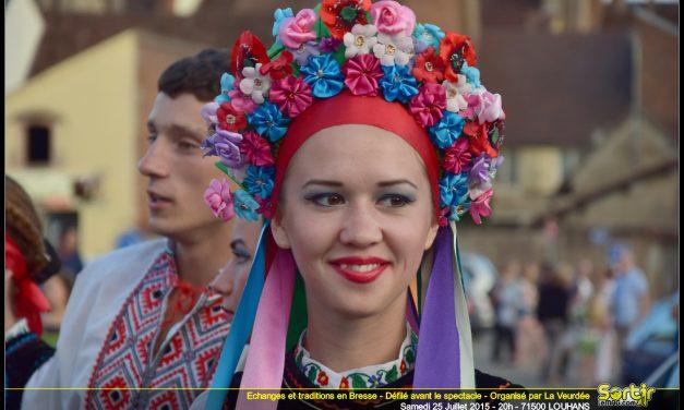 Echanges tradition folklorique La Veurdée